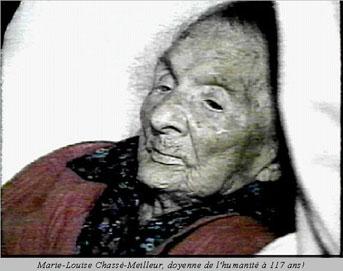 Marie-Louise Meilleur wanita tertua di dunia