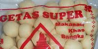 Makanan Khas Bangka GETAS