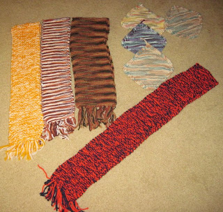 scarves and washcloths