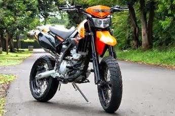 Foto Modifikasi KLX dari Kawasaki