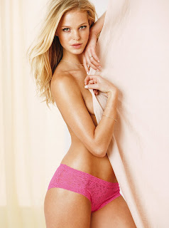 Erin Heatherton for Victoria's Secret Lingerie, March 2013