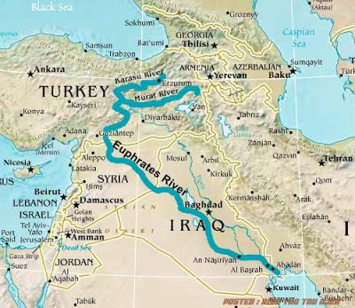 Sungai Eufrat, Gunung Emas, dan Hari Kiamat