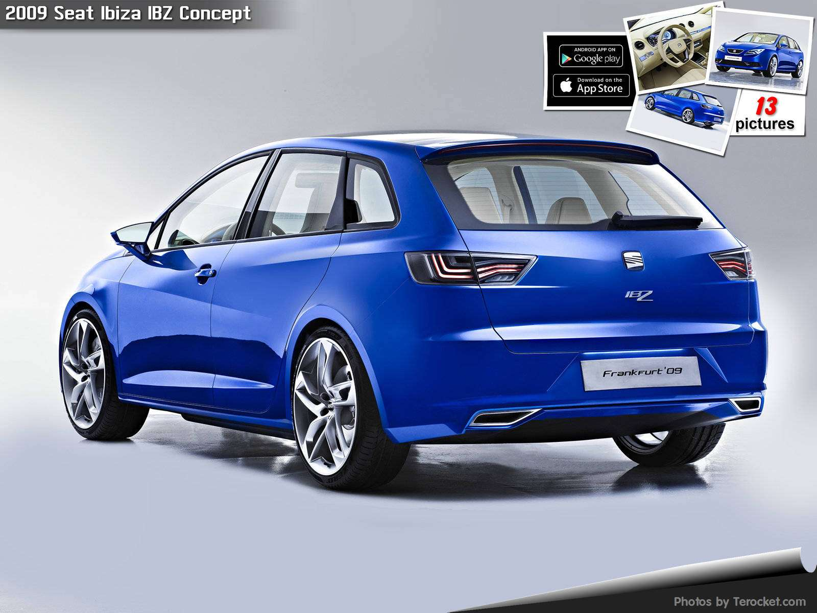 Hình ảnh xe ô tô Seat Ibiza IBZ Concept 2009 & nội ngoại thất