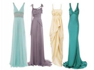 vestidos da moda 2012
