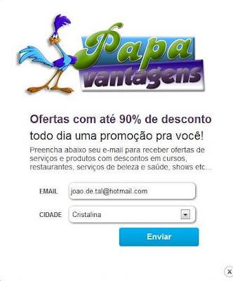 Papa Vantagens