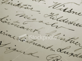 Old Style Handwriting