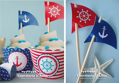 decoração festa marinheiro náutico