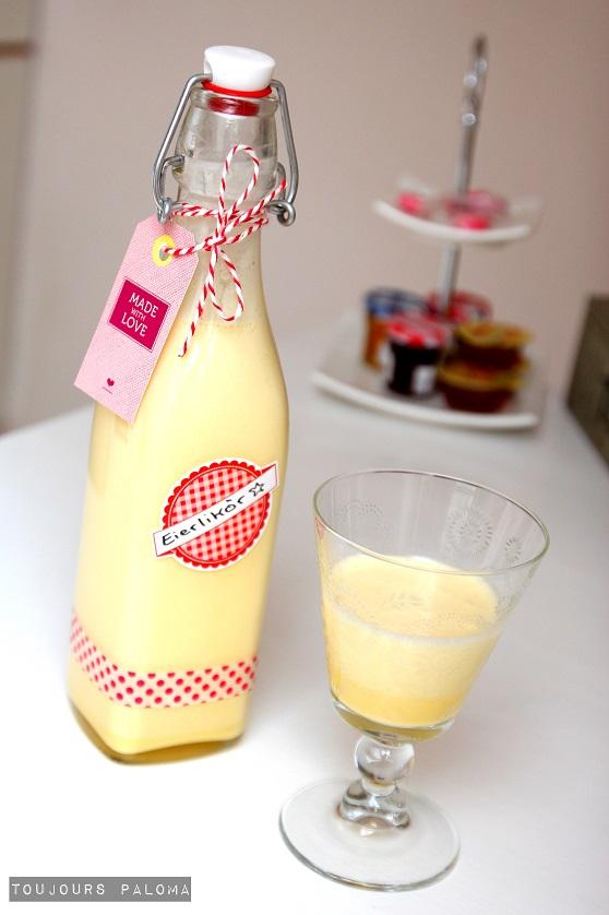 Toujours Paloma: Geschenke aus der Küche: Selbstgemachter Eierlikör ...