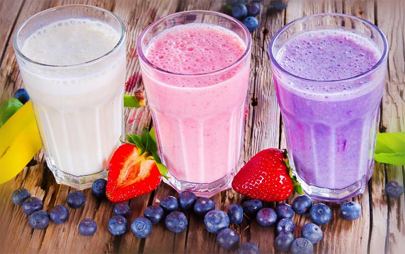 Молочно-фруктовые напитки
