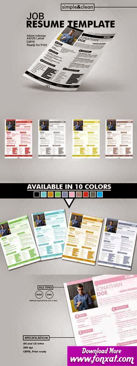 brochures and magazines تصميم اوراق مراسلة cv العدد الثانى