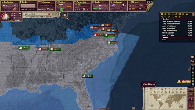 American Civil War 2 But Victoria 2's a House