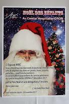 Père Noël Dron attend vos cadeaux