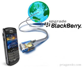 upgrade OS blackberry