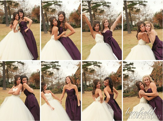 Bride And Her Bridesmaid S Photo By Benfield Photography Via Pinterest