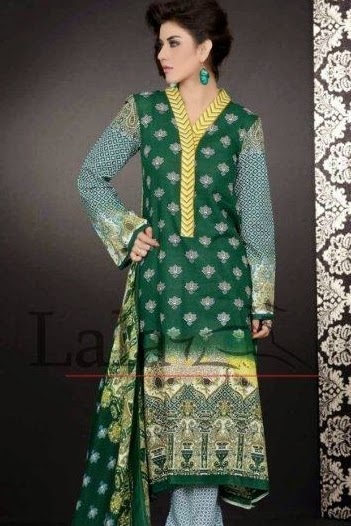 LALA Sana-Samia Khaadi Collection+2014-2015