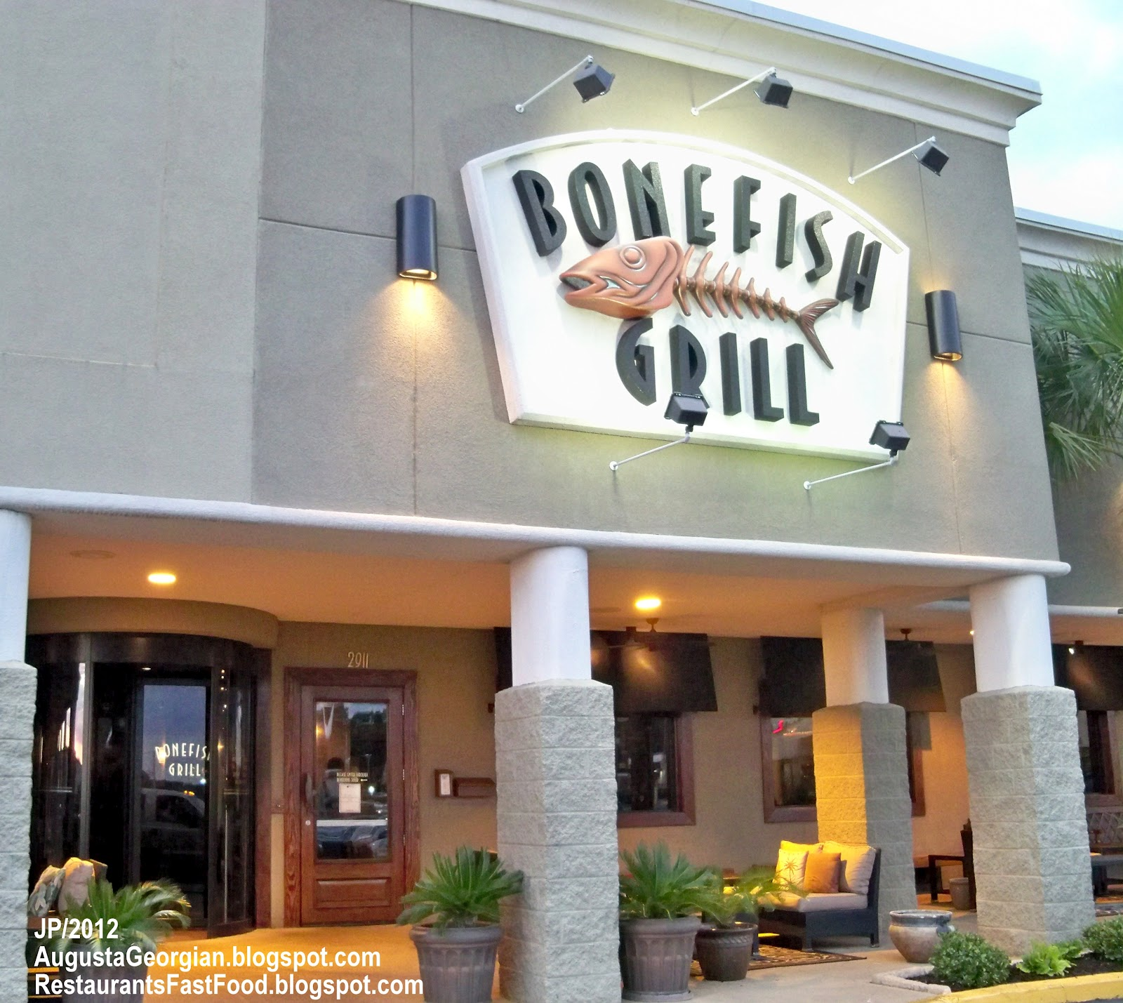 Bonefish Grill Augusta Georgia Washington Road Seafood Restaurant Richmond County Ga