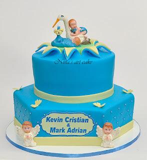 Tort botez pentru Kevin & Mark
