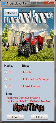 Professional Farmer 2014 V1.0 Trainer +3 MrAntiFun