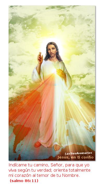 divina misericordia con salmo de la biblia