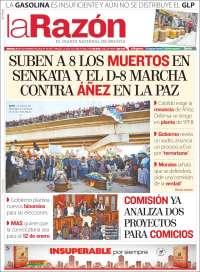 21/11/2019 PRIMERA PÁGINA LA RAZÓN DE BOLIVIA