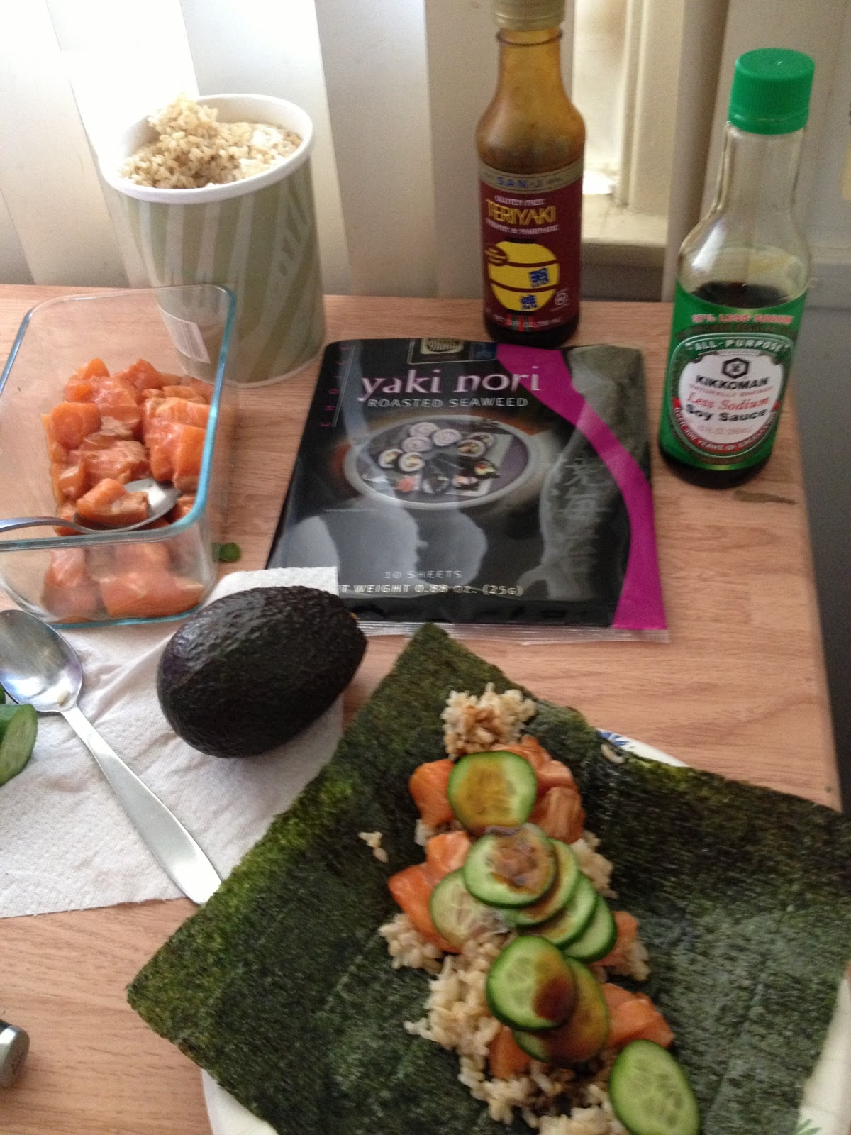 Piece of cake parent for Whole foods sushi grade fish