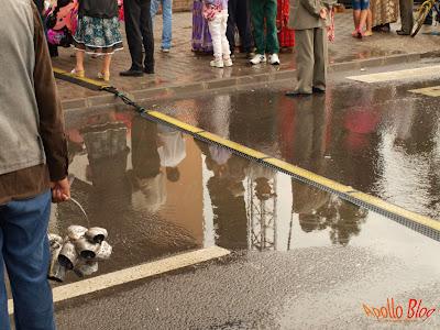 Inundatie la Zilele Toplitene