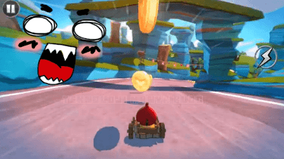 Angry Birds GO gameplay
