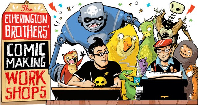 The Etherington Brothers Comic Club