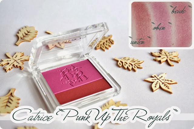 Review Catrice Rocking Royals Multicolour Blushes PUNK UP THE ROYALS
