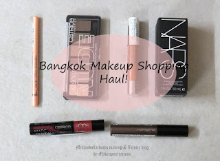 Bangkok Makeup Haul.. Catrice, Nars, MillionDollarLooks Makeup & Beauty Blog, Ctrice makeup India, nars makeup India, Catrice Made to Stay Smoothing Lip Polish, Catrice Pure Shine Colour Lip Balm, Catrice Eyebrow Filler Perfecting & Shaping Gel, Catrice Made to Stay Inside Eye Highlighter Pen, Catrice Absolute Nude Eyeshadow Palette, Nars Sheer Glow Foundation, Indian makeup blog, Indian beauty blogger, Makeup and beauty blog India