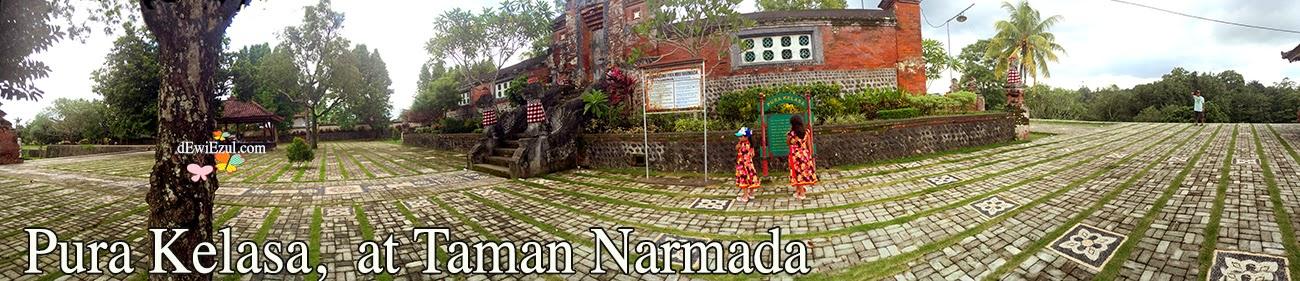 jalan jalan ke Taman nermada lombok