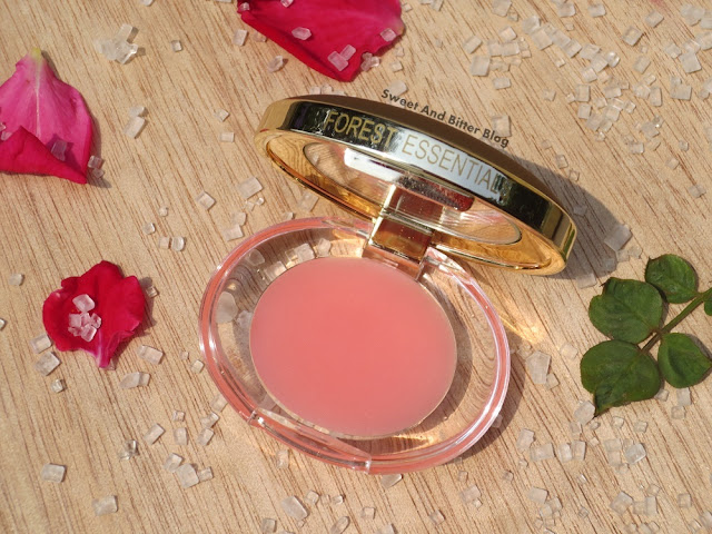 Forest Essentials Sugared Rose Petal Lip Balm Review