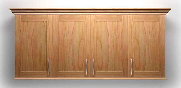 How to build frameless wall cabinets for Kitchen wall cupboards