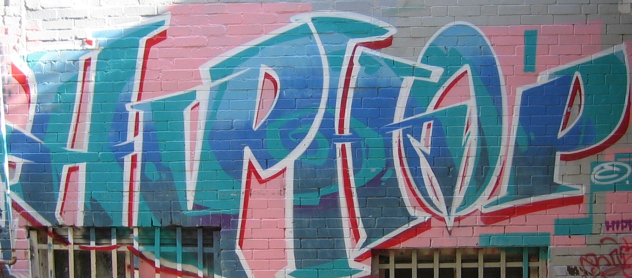 Hip hop graffiti designs look cool to you