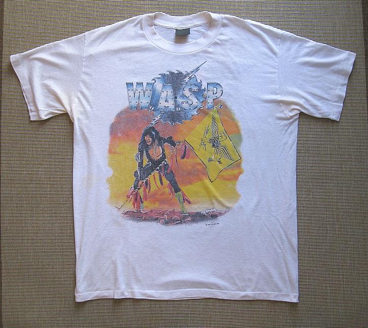Wasp Tour T Shirts