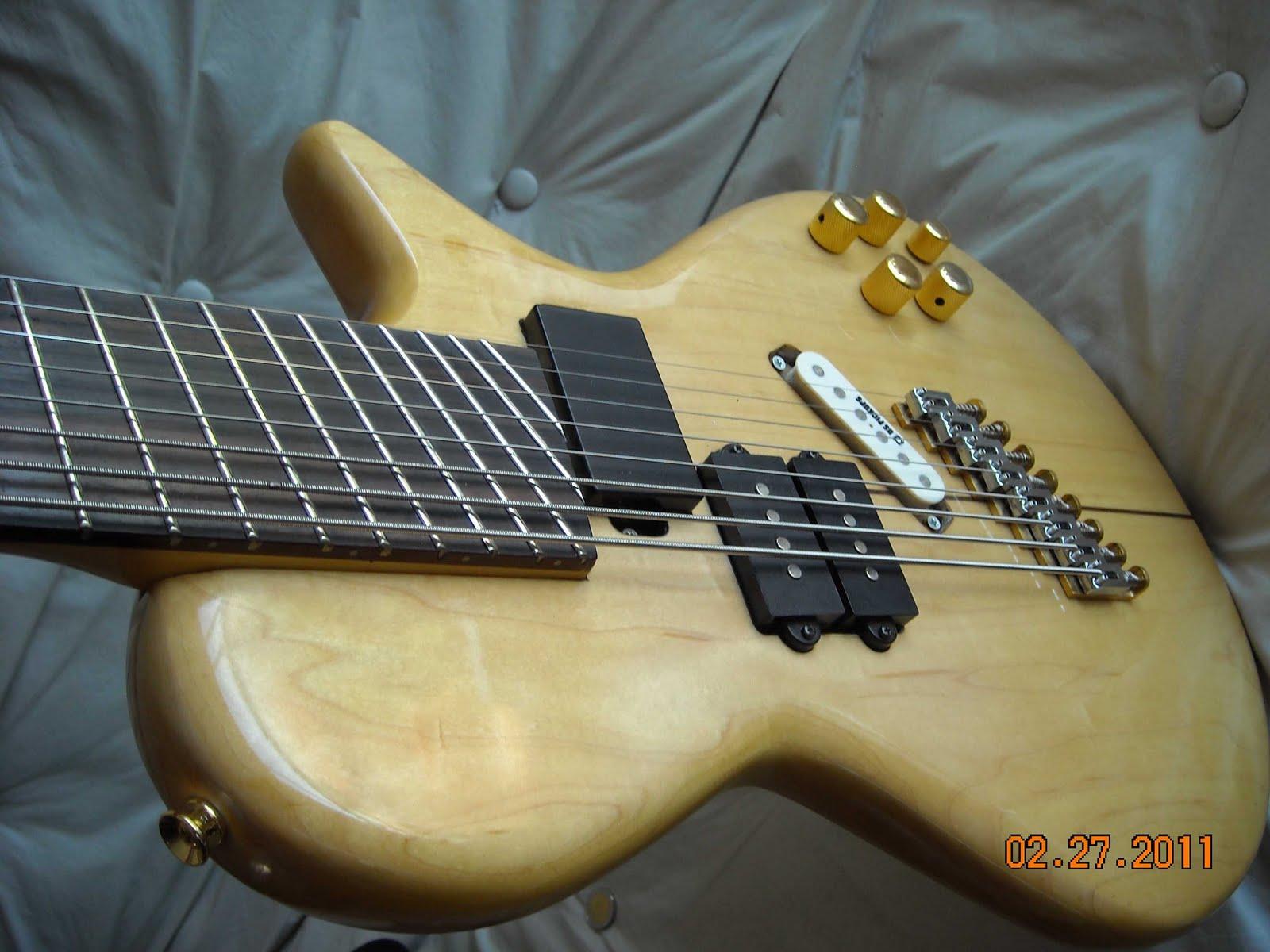Esteban maxera luthier 8 string guitar bass guitarra for Que es un luthier