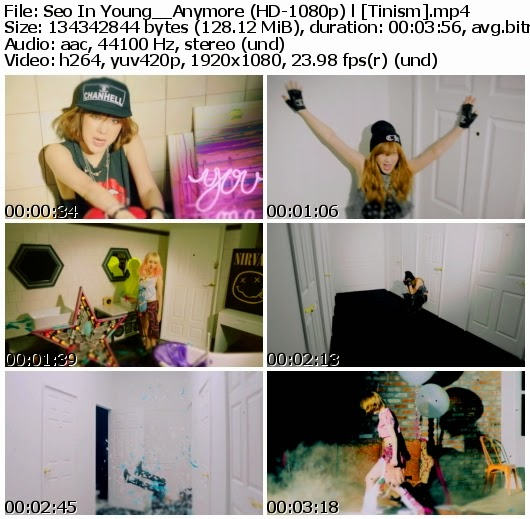 Download MV Seo In Young (서인영) - Anymore (Full HD 1080p)
