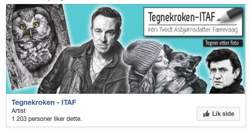 Tegnekroken på Facebook