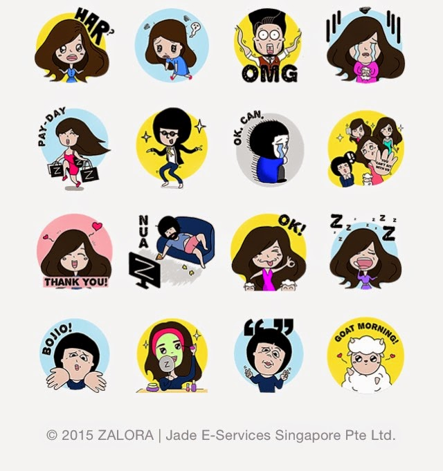 Zalora: Singapore Exclusive sticker