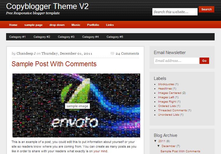 copyblogger-template