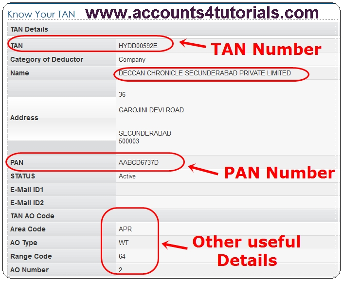 verification of pan card