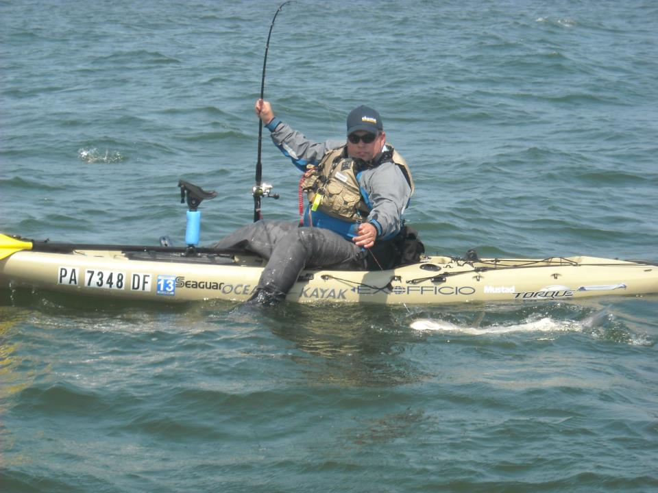New jersey with the kayak fishing for Fishing expo nj