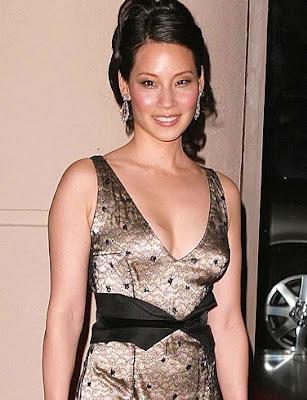 Lucy Liu vestido de moda