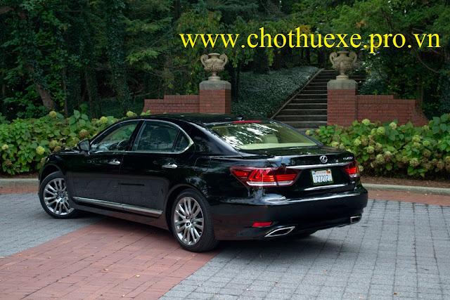 Cho thuê xe 4 chỗ Lexus LS460L AWD sang trọng, lịch lãm