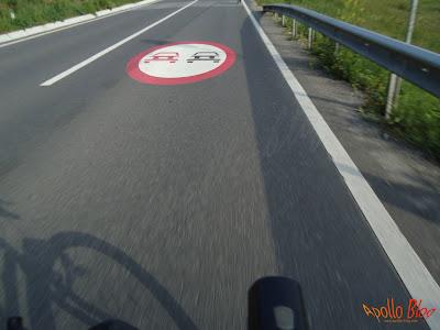Poza din mers cu bicicleta
