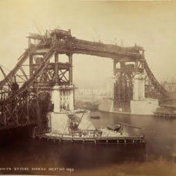 Постройка Тауэрского моста