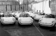 All the original Porsche 954's (911 SC RS) at Stuttgart for FIA Homologation (img )