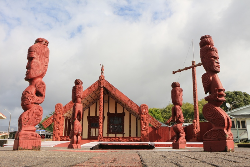 Rotorua - Ohinemutu (Maori wijkje)