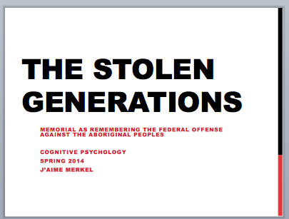 Stolen Generation Sorry Day