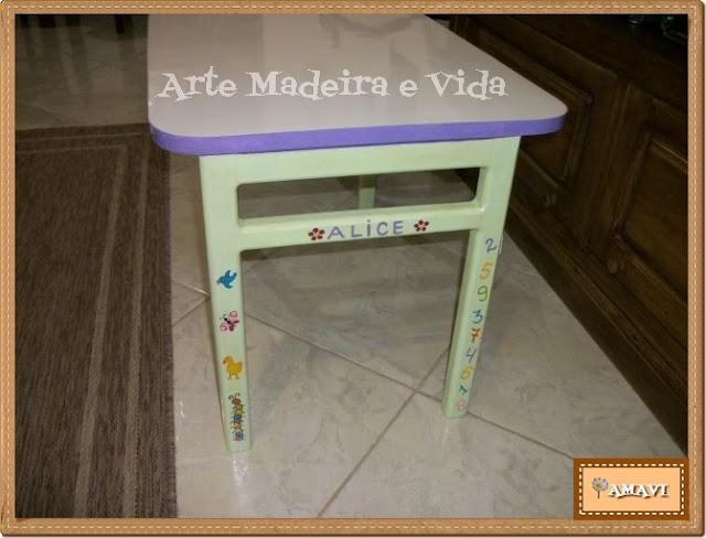 mesa criança